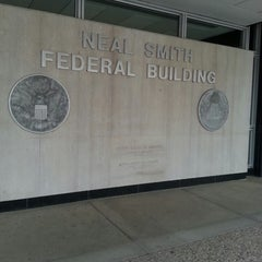 Photo taken at Neal Smith Federal Building by Sasa S. on 7/18/2014