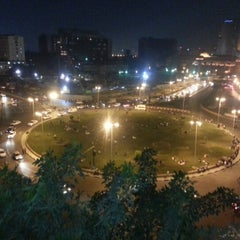 Photo taken at Tahrir Square   ميدان التحرير by Ahmed &. on 10/7/2012