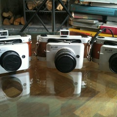 Photo taken at Lomography Gallery Store by PretletterP on 5/12/2013
