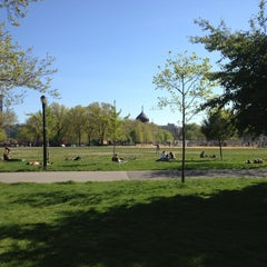 Photo taken at McCarren Park by Emma S. on 5/2/2013