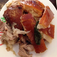 Photo taken at CnT Lechon by Roselle P. on 3/14/2015