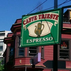 Photo taken at Caffe Trieste by Gabriella S. on 5/9/2013