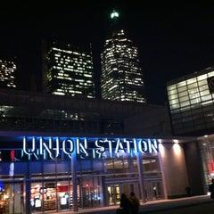 Photo taken at Union Station by Shilpa on 11/22/2012