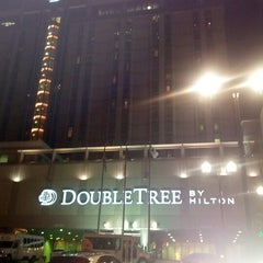 Photo taken at DoubleTree by Hilton Hotel Omaha Downtown by Jeff W. on 11/10/2012