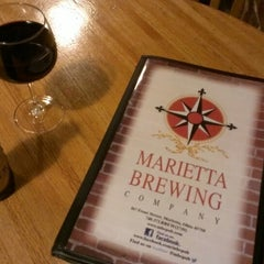 Photo taken at Marietta Brewing Company by Axl L. on 8/24/2013