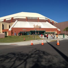 Photo taken at USF Sun Dome by Beverly W. on 10/21/2012