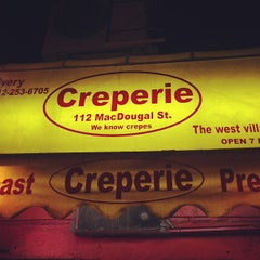 Photo taken at Creperie by Andy C. on 5/4/2013
