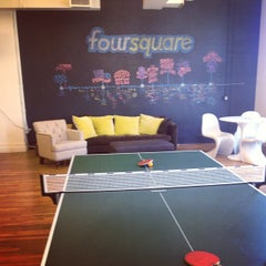 Photo taken at Foursquare HQ by Andy C. on 5/17/2013