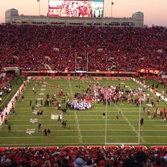 Photo taken at Memorial Stadium by Rob K. on 11/3/2013