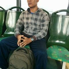 Photo taken at Halte TransJakarta Pasar Baru Timur by Stallone T. on 6/8/2015