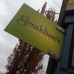 Photo taken at Geraldine's Counter by Kenji N. on 11/3/2012