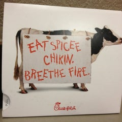 Photo taken at Chick-fil-A by Athena P. on 2/5/2013