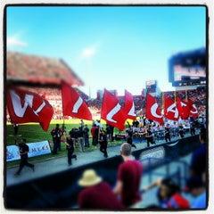 Photo taken at Arizona Stadium by Michael L. on 10/27/2012