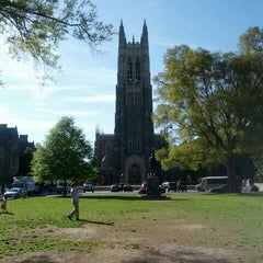 Photo taken at Duke University by Rebecca S. on 4/13/2013