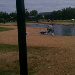 Photo taken at Bill Archer Dog Park by Cruz P. on 10/7/2012