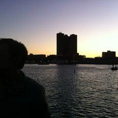 Photo taken at Inner Harbor Paddle Boat Dock by Helen L. on 10/15/2011