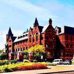 Photo taken at Saint Louis University by Erin T. on 9/29/2012