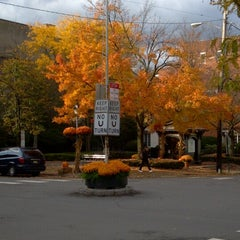 Photo taken at Main Street In Cooperstown, NY by David M. on 10/6/2012