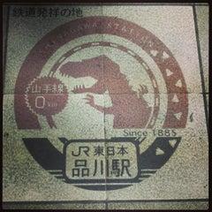 Photo taken at 品川駅 (Shinagawa Sta.) by Ken .. on 4/1/2013