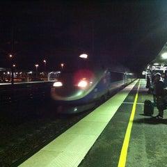 Photo taken at Gare SNCF de TGV Haute-Picardie by Piou N. on 1/2/2013
