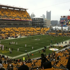 Photo taken at Heinz Field by Rick H. on 12/30/2012