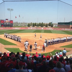 Photo taken at Bowlin Stadium by Chad C. on 4/27/2013