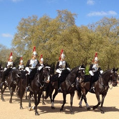 Photo taken at London 2012 Horse Guards Parade by Lunita on 4/14/2014