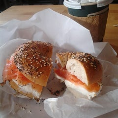 Photo taken at Zucker's Bagels and Smoked Fish by Leigh Ann on 7/9/2013