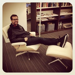 Photo taken at Herman Miller Showroom by Ryan B. on 11/30/2012