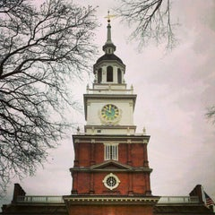 Photo taken at Independence Hall by Michael R. on 1/14/2013