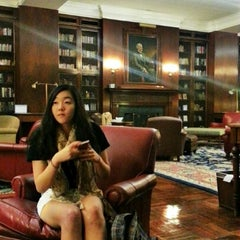 Photo taken at Alderman Library by Youlim H. on 9/27/2012