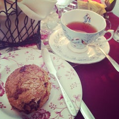 Photo taken at Teaberry's Tea Room by Jess Y. on 8/17/2013