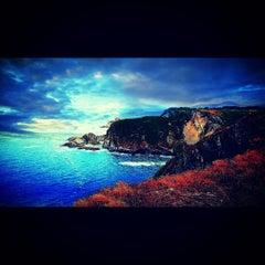Photo taken at Faro de Cabo Vidio by Juliogmilat F. on 8/27/2015