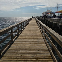 Photo taken at St. Petersburg Pier by Luis O. on 2/7/2013