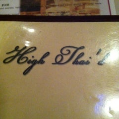 Photo taken at High Thai'd Café by Stacy G. on 1/27/2013