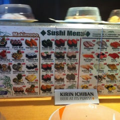 Photo taken at Marinepolis Sushi Land by Lissa B. on 10/1/2012