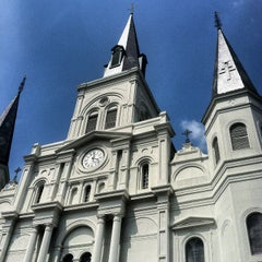 Photo taken at St. Louis Cathedral by Heidi K. on 3/31/2013