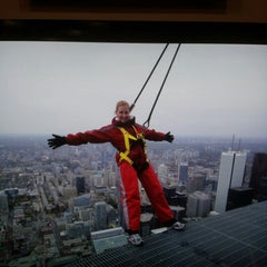 Photo taken at CN Tower by Mel W. on 10/13/2012