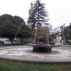 Photo taken at Plaza de Armas by Robinson H. on 4/4/2013