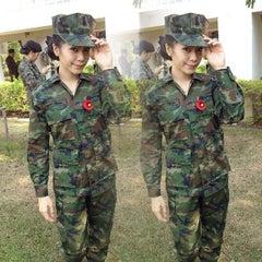Photo taken at โรงเรียนชุมพลทหารเรือ (Naval Rating School) by Nattarika T. on 2/9/2015