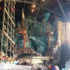 Photo taken at The Eighth Voyage Of Sindbad Stunt Show by Scott N. on 11/13/2012