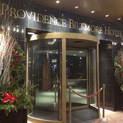 Photo taken at The Providence Biltmore Hotel by Kevin V. on 12/31/2012
