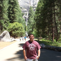 Photo taken at Lower Yosemite Falls by Kevin V. on 6/24/2015