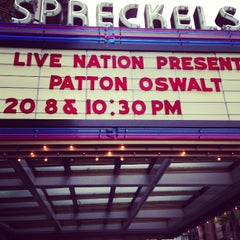 Photo taken at Spreckels Theatre by Matt M. on 7/21/2013