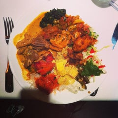 Photo taken at 2 Darbar Grill Fine Indian Cuisine by Alvin Y. on 8/20/2013