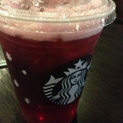 Photo taken at Starbucks by Tania C. on 12/1/2012
