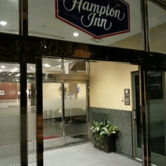 Photo taken at Hampton Inn Convention Center by Adrien D. on 6/13/2013