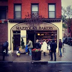 Photo taken at Mazzola Bakery by christian svanes k. on 10/29/2012