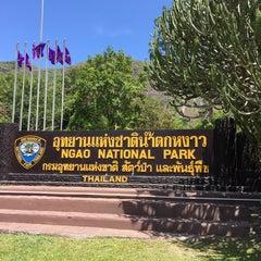 Photo taken at อุทยานแห่งชาติน้ำตกหงาว@ระนอง by pAuL K. on 3/30/2015