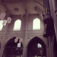 Photo taken at Amstelkerk by Iskander S. on 9/15/2013